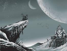 Alien Landscape by JZINGERMAN