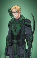 Green Arrow Pre-Suit Concept by DannyK999