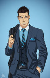 Dick Grayson (Circa 2020) by DannyK999