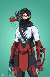 Emiko Queen - Red Arrow by DannyK999