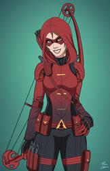 Red Arrow-ette (Thea Queen) by DannyK999