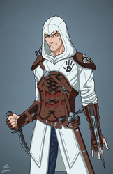 Lucien (Assassin's Creed Colors) by DannyK999