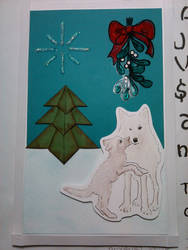 Christmas card for Los Carrillo's by KlassikalGuitartist
