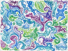 Twilit Sea by ushiyasha