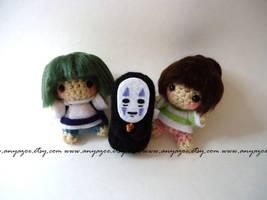 Spirited Away Amigurumi by AnyaZoe