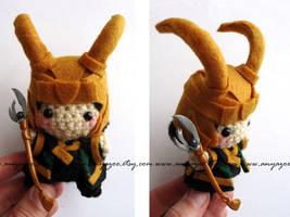 Loki Amigurumi by AnyaZoe