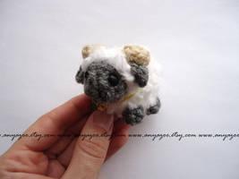 Grey Sheep Amigurumi - LIMITED EDITION by AnyaZoe