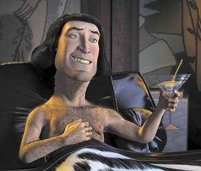 Farquaad with neck by Mosesaurus