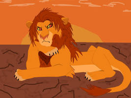 Simba outlander by KingScar17