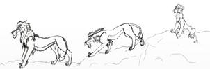 Scar / Taka evolution by KingScar17