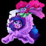 Nicole's Ponies by meotashie