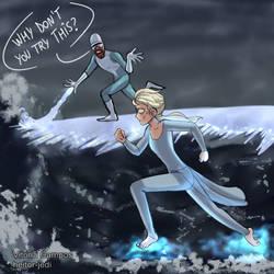Elsa - Frozone by heitor-jedi