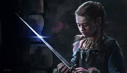 Arya Stark by SebastianKowoll