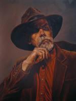 Cowboy Portrait by rampartpress