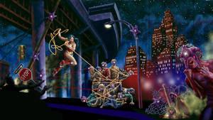 Wonder Woman: Street Invasion by rampartpress