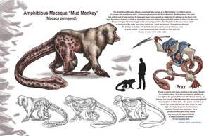 Creature Design 'Mud Monkey' by rampartpress