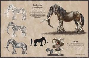 Pachydale Creature Design by rampartpress