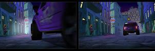Production Stills of a New York street by rampartpress