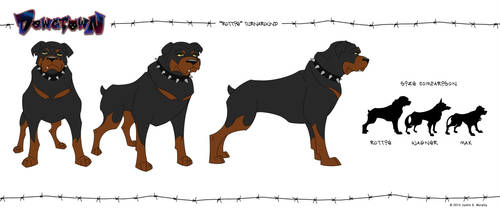 Rottie Turnaround by rampartpress