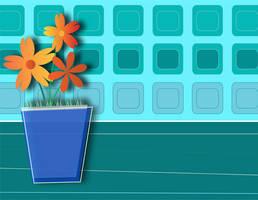 Flowers in pots by MeanBean06