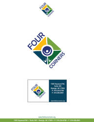 Four Corners Logo by MeanBean06