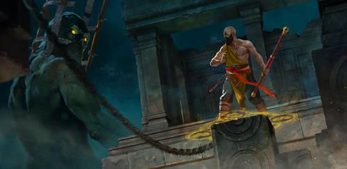 Monk by ivelin