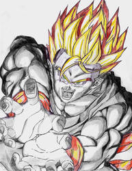 Son Gohan by Johnx13