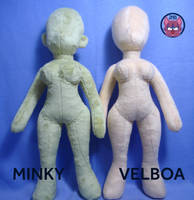 Female Human Body Pattern to Sale by TrashKitten-Plushies