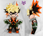 Bakugou Katsuki from My Hero Academia by TrashKitten-Plushies