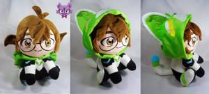 Pidge with green lion kigurumi by TrashKitten-Plushies