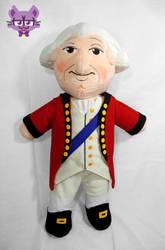 Lord Cornwallis Plush by TrashKitten-Plushies