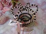 Black and Pink Lolita Crown by bnybriek