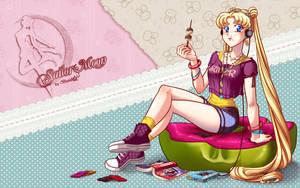 Sailor Moon by Lunalaef