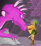 Dragonspell on female warrior by hypnovoyer
