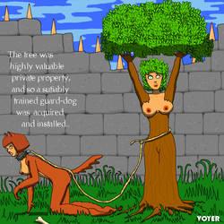 MCed female tree guard by hypnovoyer