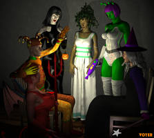 Halloween Hypnosis 3D by hypnovoyer