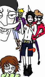 One Piece Whitebear crew fanart? by 00Koharu