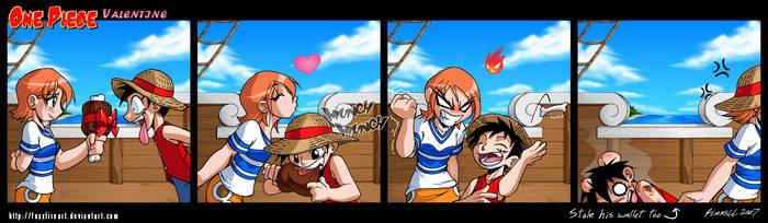 One Piece Valentine by FoxxFireArt