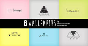 6 Wallpapers hipsta. by TransilvaniaEditions