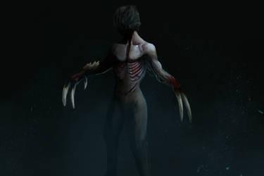 Necromorph 2 by Luetche