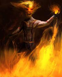 Pyromancer by Luetche