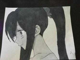 Random anime girl :P by djakal12