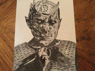 Night king Copic by djakal12