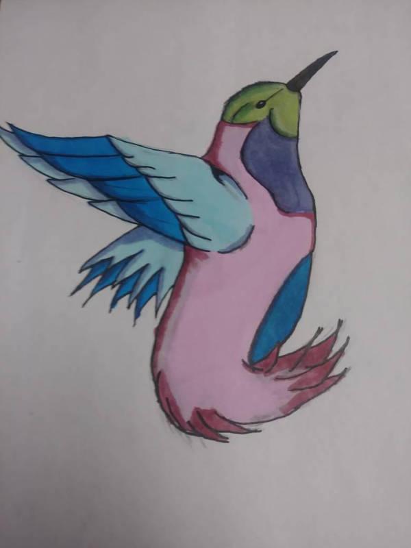 random bird  by djakal12