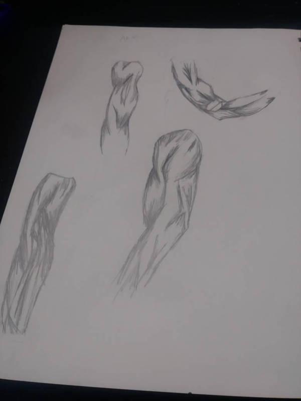 arm sketch by djakal12