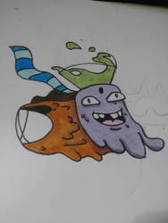 Doodle  by djakal12