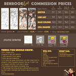 My Commission Prices - OPEN! by Commissions-RRart