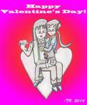 Valentine's Day 2014 (EchoxAile) by TempestVortex
