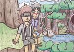 AnikaxArashi (Part I) A Look at Nature by TempestVortex