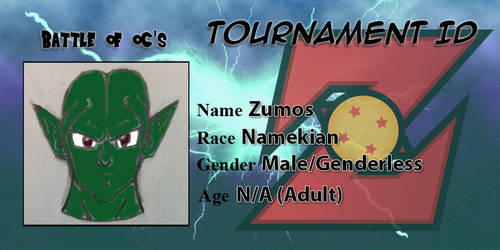 Battle of OCs ID - Namekian Zumos by TempestVortex